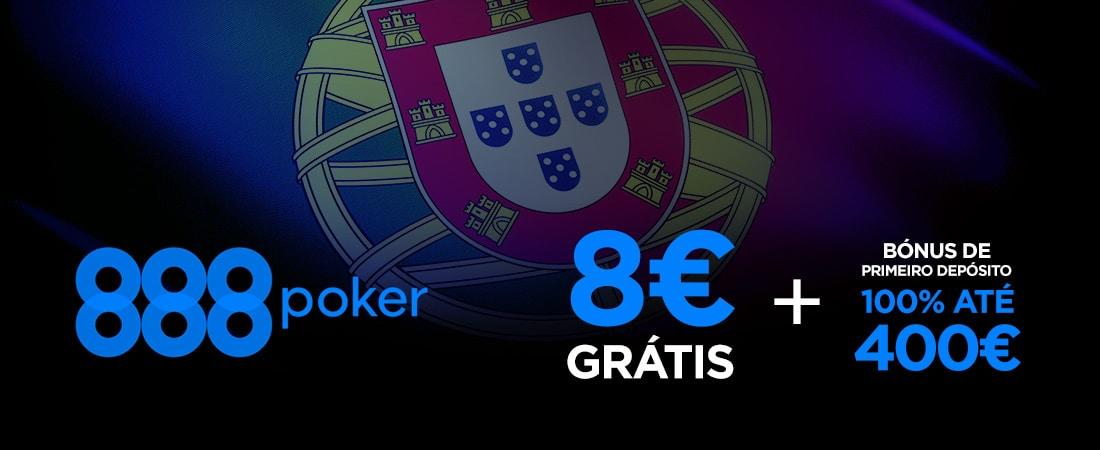 Poker 888 Bonus gratis de 8€
