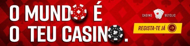 Bónus de Primeiro Depósito para Casino