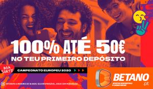 Betano Bonus Boas-Vindas